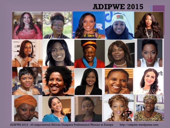 Top 20 African women in Europe 2015